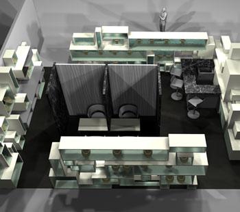 Αλέξανδρος Κάπππος Αρχιτέκτονας Εσωτερικών Χώρων  // ΕΚΘΕΣΙΑΚΑ ΠΕΡΙΠΤΕΡΑ:SULTOS