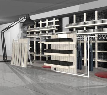 Αλέξανδρος Κάπππος Αρχιτέκτονας Εσωτερικών Χώρων STAFF JEANS&CO 2