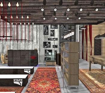 Αλέξανδρος Κάπππος Αρχιτέκτονας Εσωτερικών Χώρων STAFF JEANS&CO 7