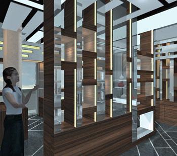 Αλέξανδρος Κάπππος Αρχιτέκτονας Εσωτερικών Χώρων // JEWLERY STORE:ANTICA