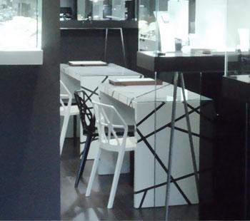 Αλέξανδρος Κάπππος Αρχιτέκτονας Εσωτερικών Χώρων  // JEWLERY STORE: DJIKONDI