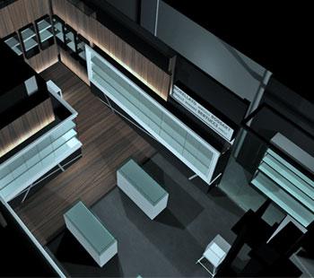 Αλέξανδρος Κάπππος Αρχιτέκτονας Εσωτερικών Χώρων // JEWLERY STORE: LASITIOTAKIS