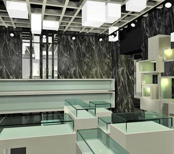 Αλέξανδρος Κάπππος Αρχιτέκτονας Εσωτερικών Χώρων // JEWLERY STORE: VERITA