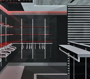 Αλέξανδρος Κάπππος Αρχιτέκτονας Εσωτερικών Χώρων // ΚΑΤΑΣΤΗΜΑΤΑ ΑΘΛΗΤΙΚΩΝ ΕΙΔΩΝ: COUGAR